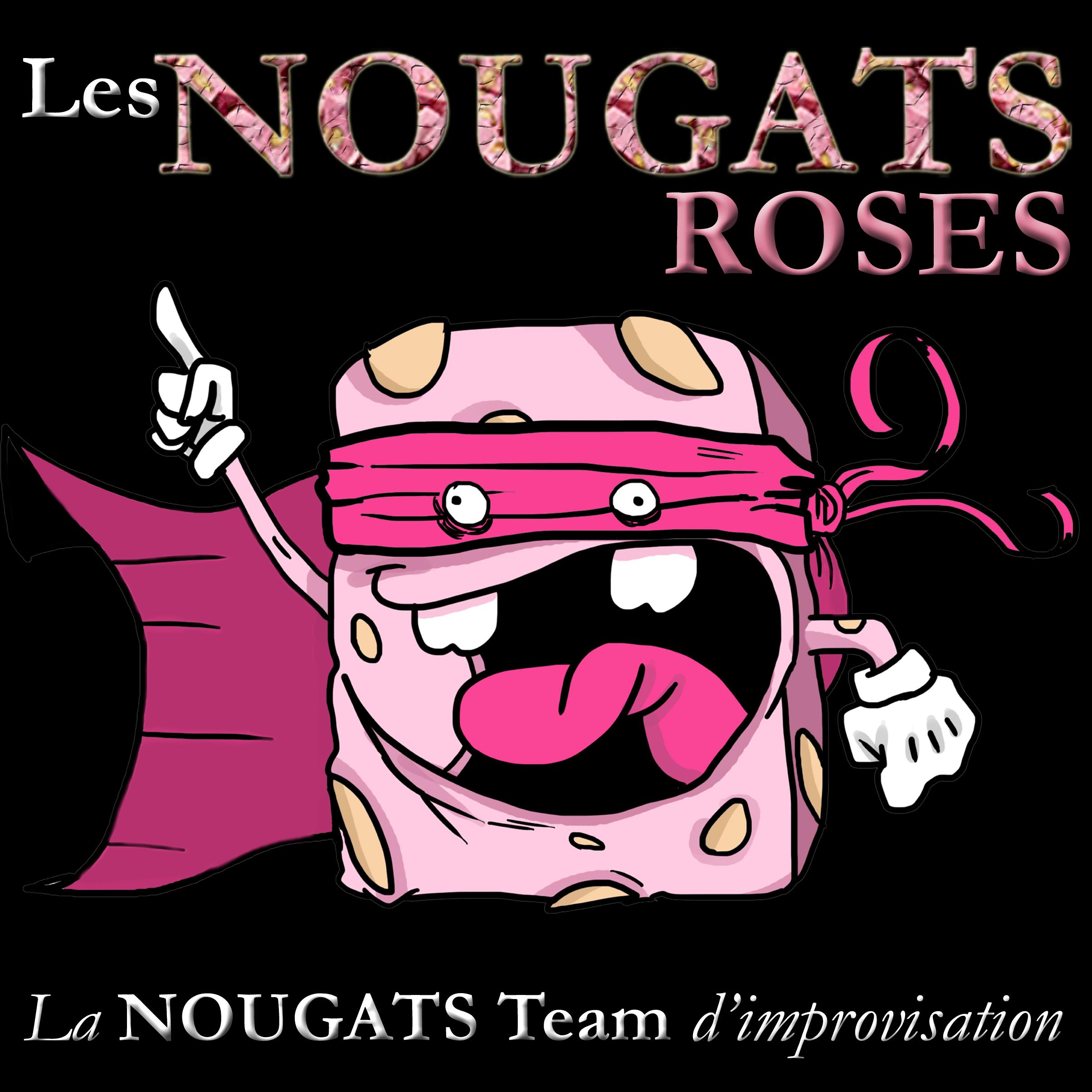 nougats-roses